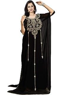 d52d3f4a869 KoC Women s wear Dubai Kaftan Farasha Caftan Long Maxi Dress Abaya Jalabiya