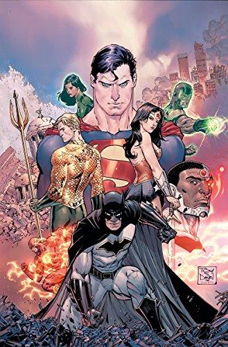 Justice League Comic (Justice League: The Rebirth Deluxe Edition Book 1 (Rebirth))