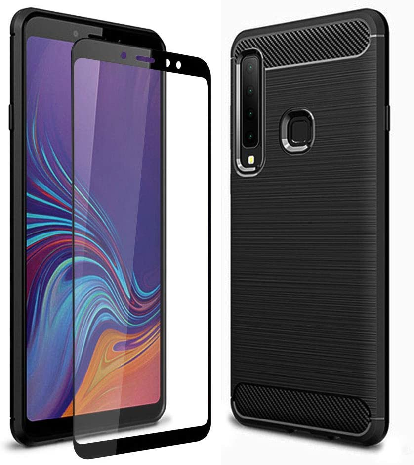 Black Shockproof Tempered Glass Olixar for Samsung Galaxy S10e Case with Screen Protector Sentinel 360 Full Body Coverage Hard PC Dual Layer Rugged Heavy Duty Cover