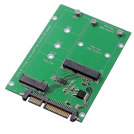 Sharplace Tarjeta Conversora SSD Accesorios NGFF M.2 B Key o ...