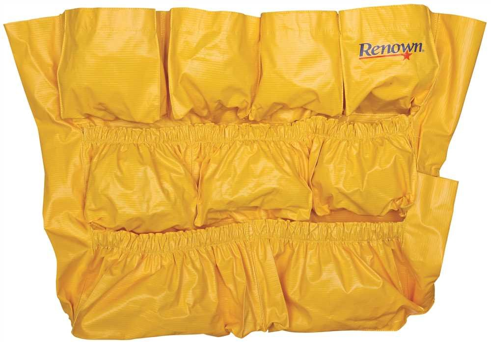 Renown 2480646 Caddy Bag for 44 Gallon Waste Containers, Yellow GIDDS2-2480646