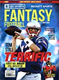 #10: Current CBS Sports Fall 2017 Beckett Fantasy Football Draft Guide Tom Brady