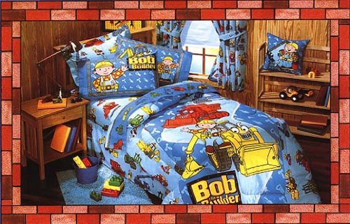 - Dan River (119558) Bob The Builder Twin Bedskirt (39x75) - Close Out Pricing!