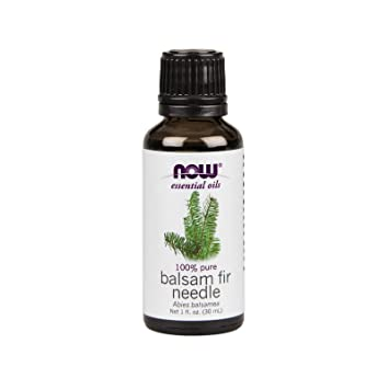 NOW Essential Oils, Balsam Fir Needle Oil, Woodsy Aromatherapy Scent, Steam  Distilled, 100%