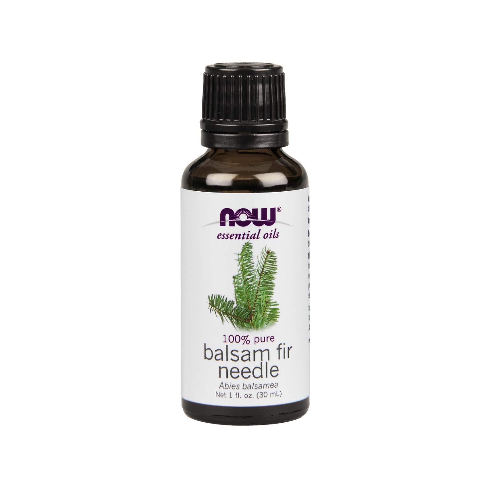 NOW Essential Oils, Balsam Fir Needle Oil, 1-Ounce
