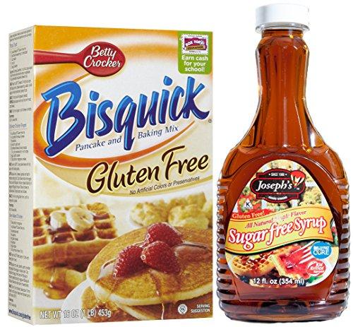 The Best Gluten Free Pancake Syrup Background
