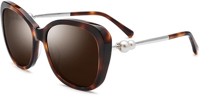 Eliza Womens Sunglasses Polarized Grey Cat-3 UV400 Lenses