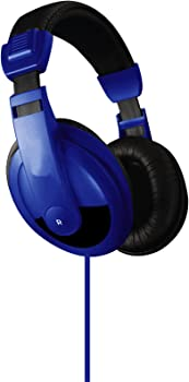 Vibe VS-750-DJ BLU Wired Headphones