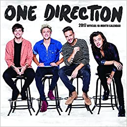 One direction 2017 calendar 9781465057174 livros na amazon brasil stopboris Gallery