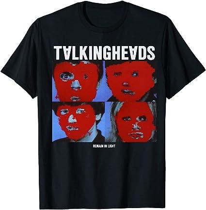 Seuriamin Talking Heads Remain in Light Ultra Soft Men Shirt