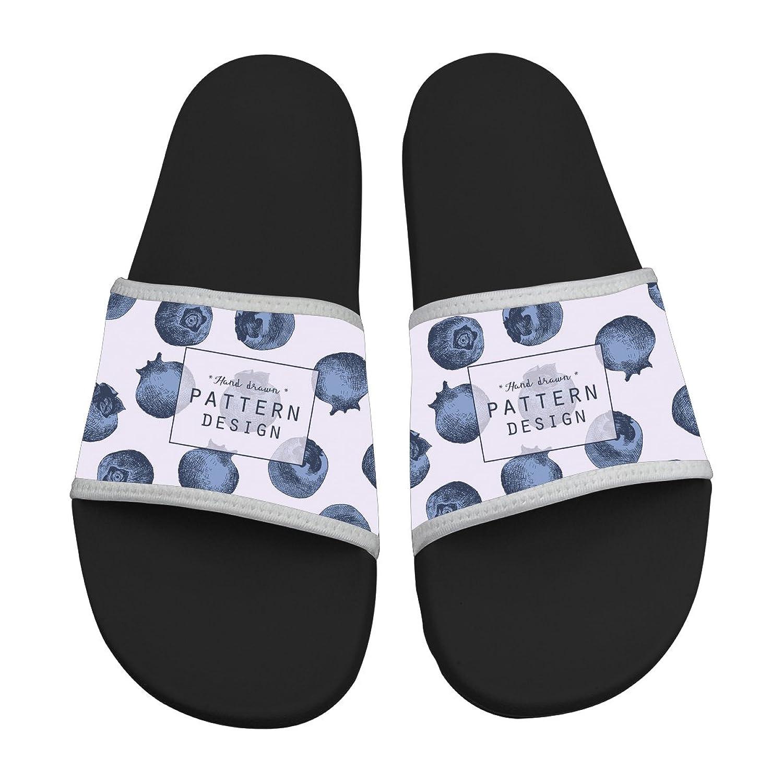 durable modeling ZeZe Blueberries Comfortable Slipper Flip Sandals stylish Designs For Men & Women