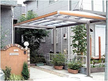 10 x 18 Metal Carport – Pérgola aluminio Cubiertas Durable con ...