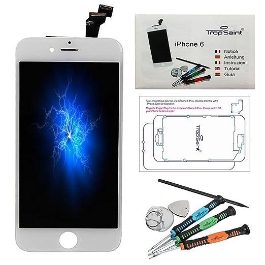 """17 opinioni per Trop Saint® Vetro Schermo LCD di ricambio per iPhone 6 (4,7)"""" Bianco Display"""