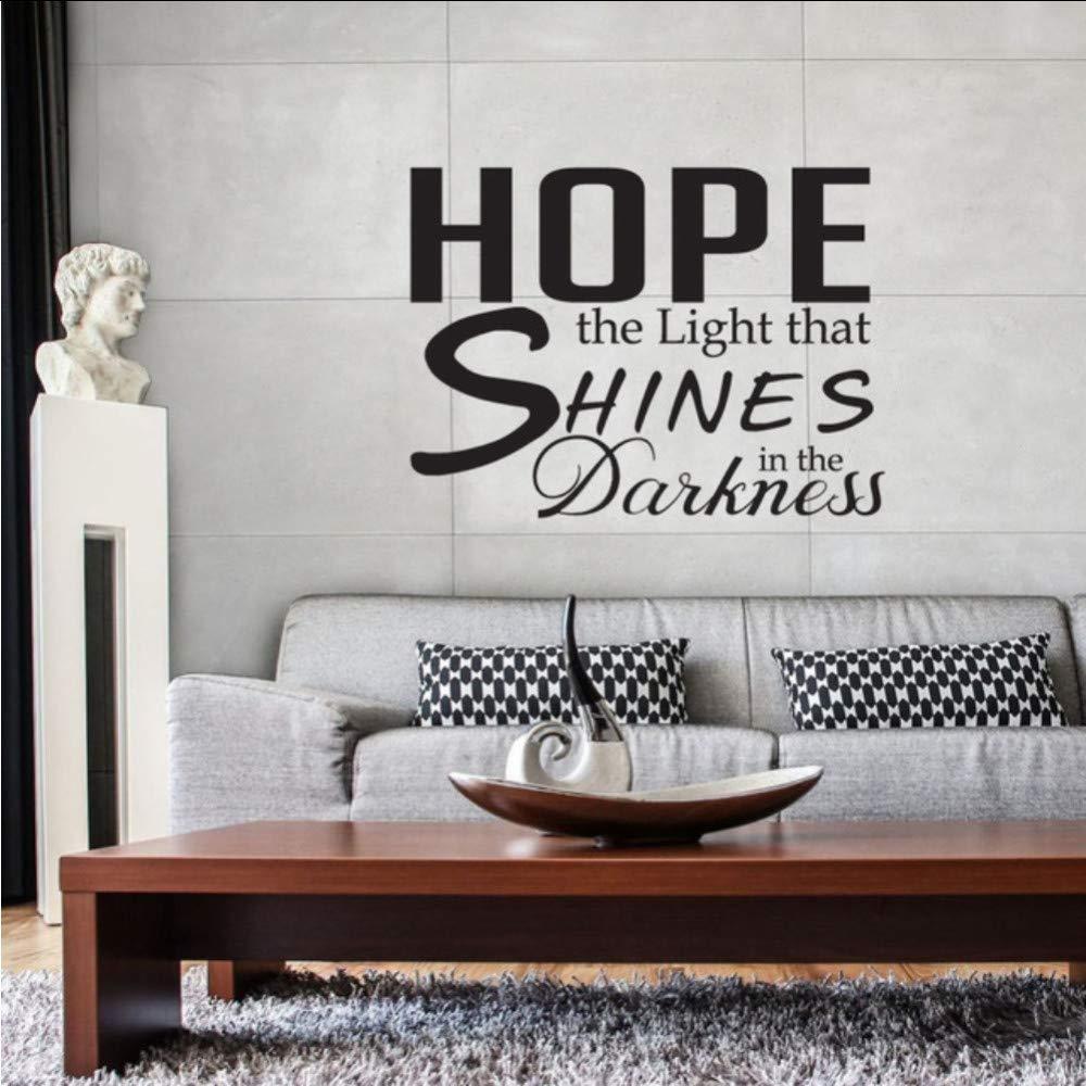 Ponana Hope Light Shines Cita Pegatinas De Pared Arte Tatuajes De ...