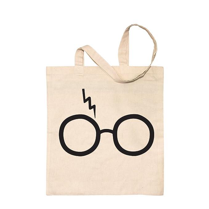 Lightning Verre Harry Potter–Naturel Tote Sac de shopping