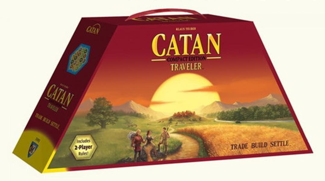 Devir - Catan, juego de mesa (222579) - Edición de viaje: Amazon ...