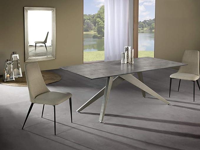 Schuller - Mesa de Comedor Moderna - Kios (180x90): Amazon.es ...