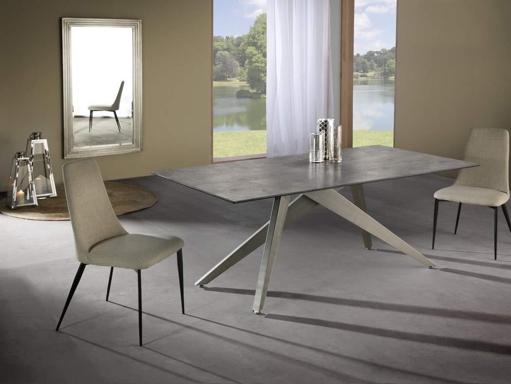 Schuller - Mesa de Comedor Moderna - Kios (180x90): Amazon ...