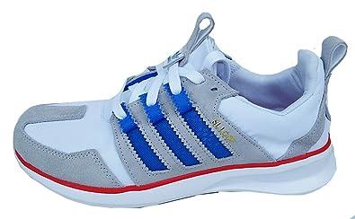 Adidas Uomo Sl Loop Runner Originali, Allenatore Di C77017 Bianco / Blu / Rosso