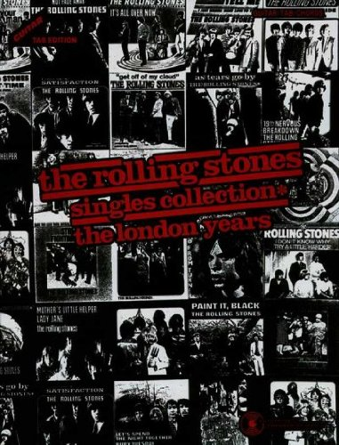 The Rolling Stones Singles Collection The London Years / Guitar Tab Edition The Rolling Stones Singles Collection (Singles Guitar Tab)