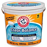#4: Arm & Hammer Clear Balance Pool Maintenance Tablets, 16 Count, Net Wt. 7LB (3.1kg)