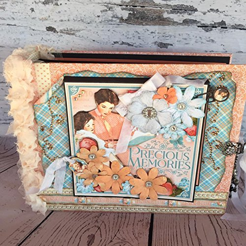 Handmade Large Posh Precious Memories Baby Child Photo Album 12x9.5 by Artsy Creativities