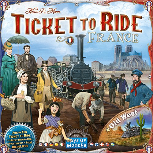 Ticket to Ride: France and Old West Map Collection Six JungleDealsBlog.com