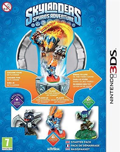 Activision Skylanders: Spyros Adventure Starter Pack PlayStation 3 Holandés vídeo - Juego (PlayStation 3, Aventura, Modo multijugador, E10 + (Everyone 10 +)): Amazon.es: Videojuegos