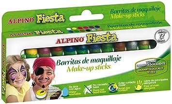 Alpino DL000012 - Estuche 12 unidades maquillaje: Amazon.es: Oficina y papelería