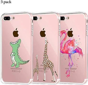 Yalixin [3 Pack] iPhone 7 Plus Funda, iPhone 8 Plus Funda ...