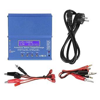 Cargador de batería, B6AC 80W Multifunción RC Li-ion Li-Po ...