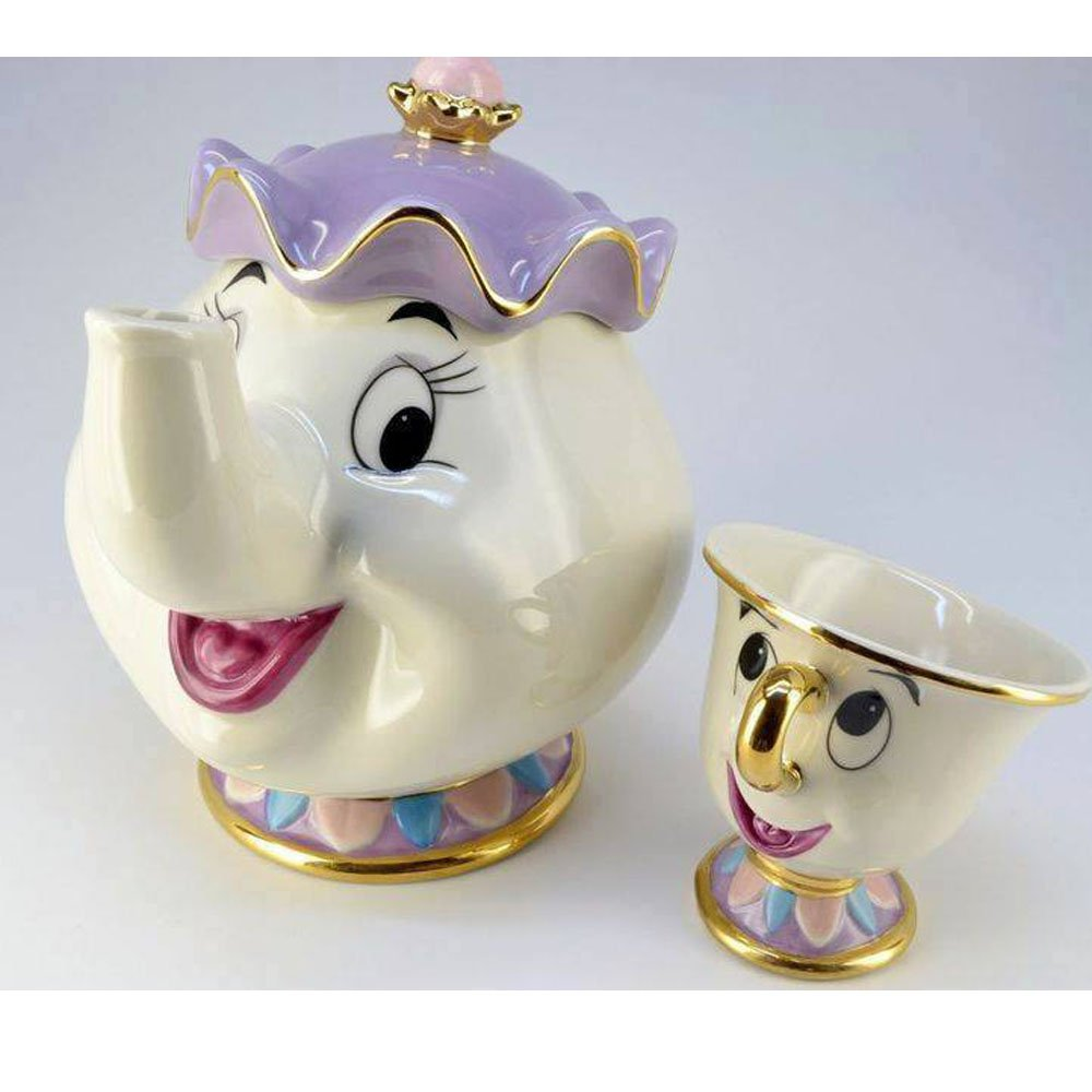 Beauty and The Beast Pot & Cup Image