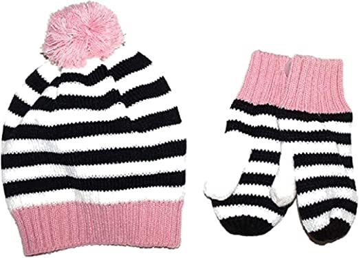 baby gap mittens girl size M//L 4-5 Years NWT Pink cream sweater
