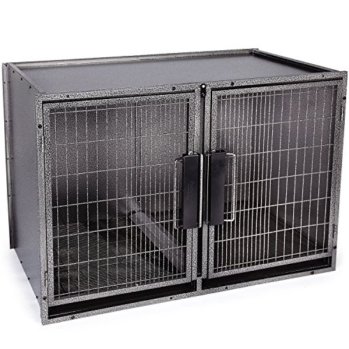 (ProSelect Large Modular Kennel Cage Graphite)