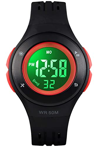1a5d1175f Kids Digital Watch, Boys Sports Waterproof Led Watches with Alarm Wrist  Watches for Boy Girls