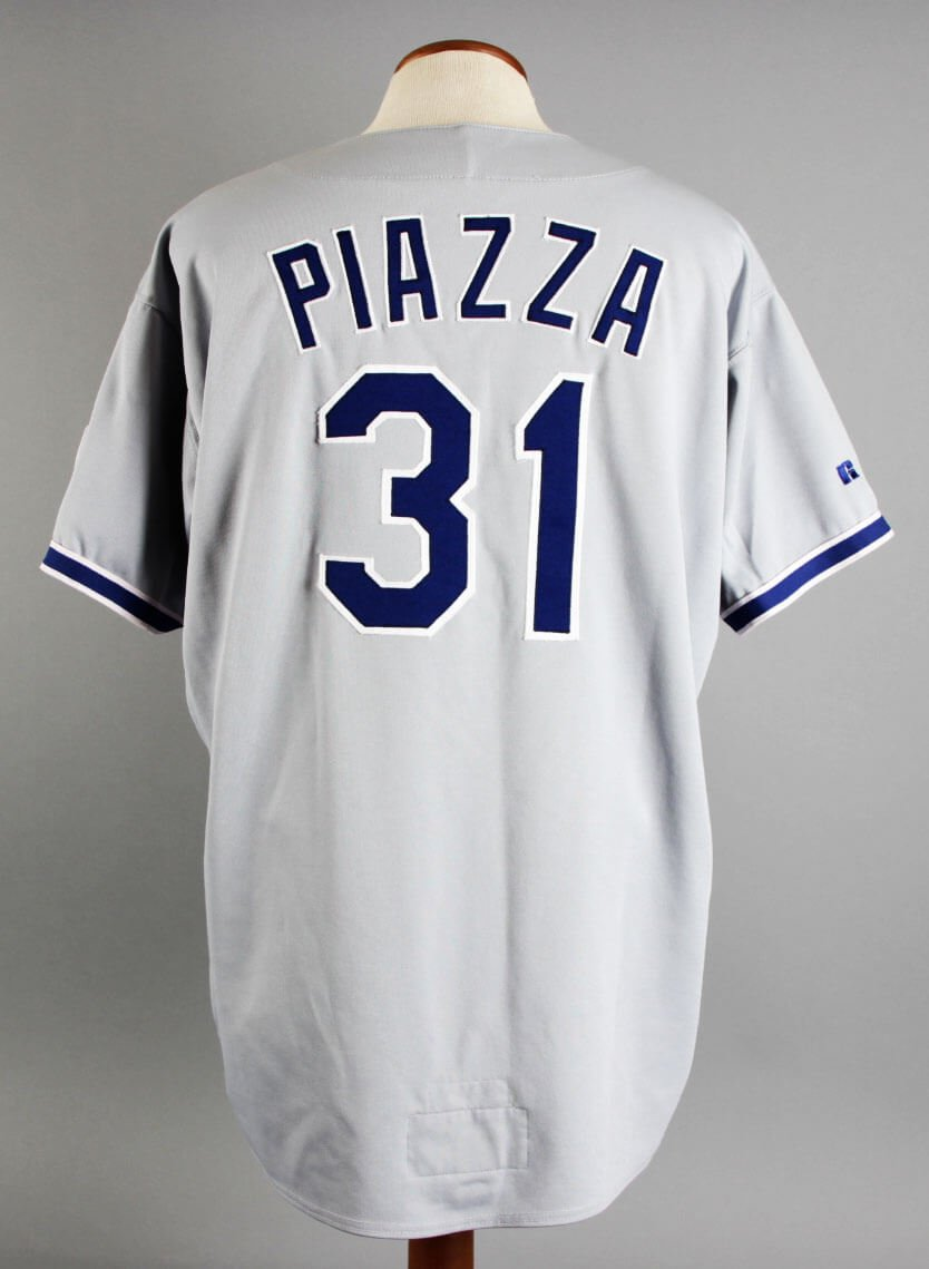 wholesale dealer 5cf8d 2c846 1996 Mike Piazza Game-Worn Jersey Dodgers - COA 100% Team at ...