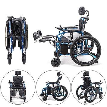 BQT Eléctrico Silla De Ruedas Personal Walker De Cuatro Ruedas Vehículo Eléctrico Ancianos Minusválidos Ligeros Plegable