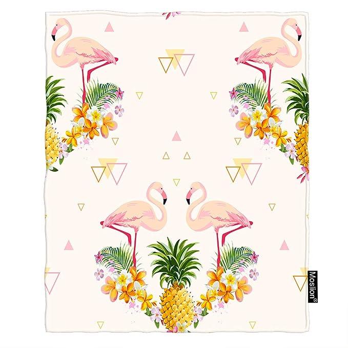 Amazon.com: Moslion Flamingo manta manta tropical piña ...