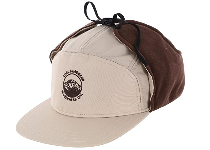 d0d6ac9b7fa Image Unavailable. Image not available for. Colour  Coal Tracker Flannel  Lined Earflap Hat Khaki ...