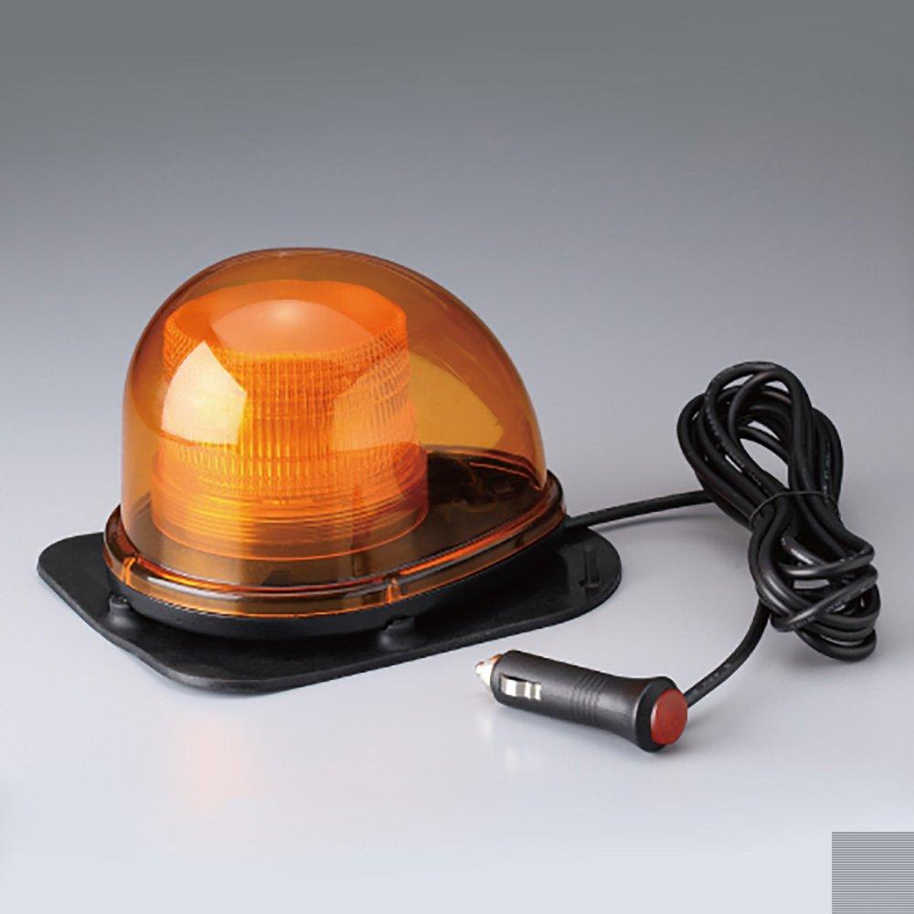 【387-131】車載用警告灯12V24V兼用ゴム付き  B071JS1WC8