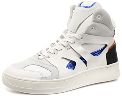 71c2612dc6a Puma Alexander McQueen MCQ Move Mid White Mens Trainers Size UK 8 ...