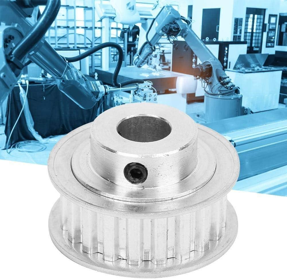 20 Teeth 10mm XL Type Maxmartt Synchronous Wheel Aluminum Alloy XL Type 20 Teeth Industrial Automation Supplies