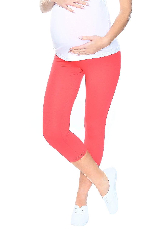 Mija Leggings Longueur 3//4 de maternit/é Haute qualit/é 1041