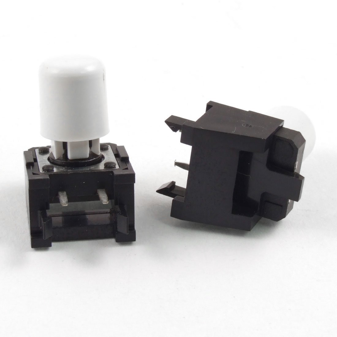 bouchon Blanc 12/ mm x 12/ mm x 16/ mm uxcell momentan/é tactile Push Button Switch