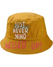 Yesmile Sombrero Sombrero de Pescador Pescador al Aire Libre Unisexo Imprimiendo Carta Sombrero Moda Salvaje Sombrero Gorra de protección Solar Sombrero de Mujer y Hombre