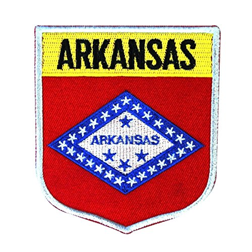Embroidered Patch Confederate Flag - 5