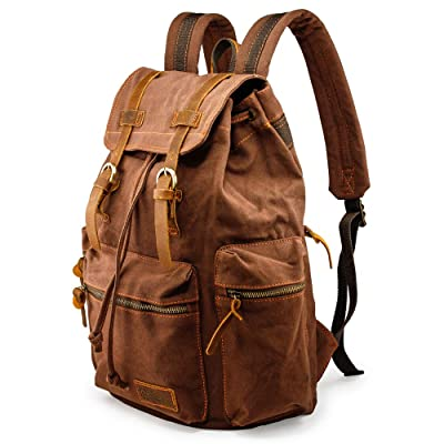 GEARONIC TM 21L Vintage Canvas Backpack