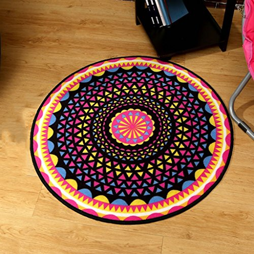 8080 Chair - LG-Rug Carpet Modern Trend Personality Round Coffee Table Sofa Bedside Computer Chair Carpet mat (Size : 8080 cm (31.5031.50 in))