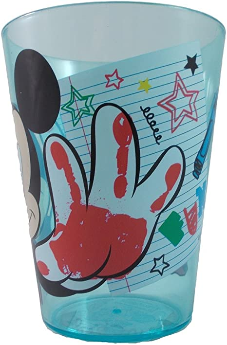 GABBIANO SPA Vaso de pl/ástico Disney Mickey Disney ML.300 CM 10X7.5-39069GOLD