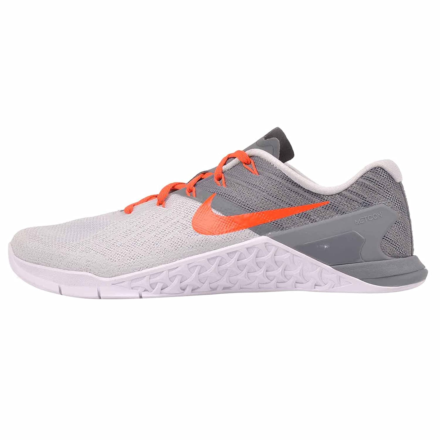 Nike Womens Metcon 3 Training Shoes B01N2VPBTN 8 B(M) US|Pure Platinum / Total Crimson